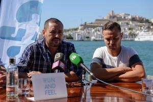 Juan Antonio Molina promotor de la feria Touribisport - Ibiza Marathon